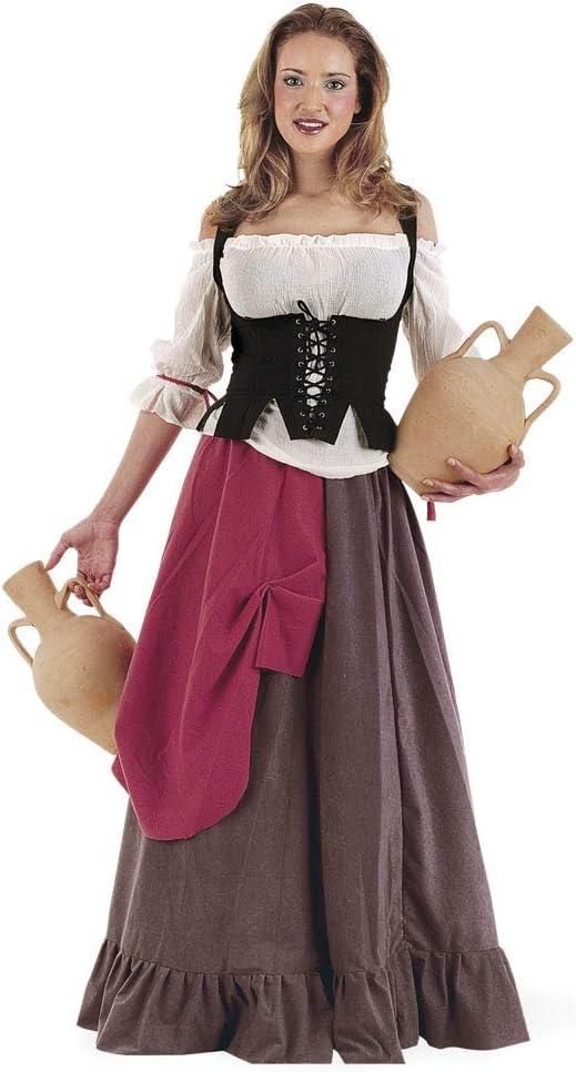 Limit Sport - Disfraz de tabernera medieval Eliana, para adultos, talla XL (MA414): Amazon.es: Juguetes y juegos