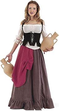 Limit Sport - Disfraz de tabernera medieval Eliana, para adultos ...