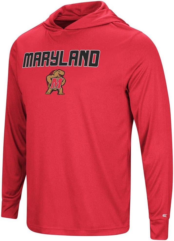 メンズ メリーランドテラピンズ 長袖フード付きTシャツ  X-Large