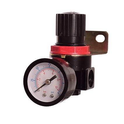 Unidad de mantenimiento de aire comprimido Reductor de presión Regulador para compresor
