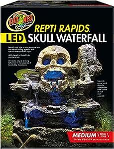 Amazon Com Zoo Med Repti Rapids Led Skull Waterfall