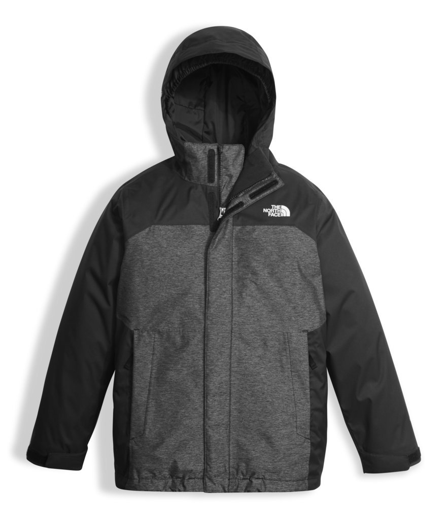The North Face Boy's Vortex Triclimate Jacket - TNF Black/TNF Black Heather - L (Past Season) by The North Face