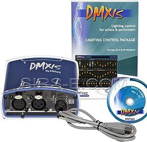 Enttec DMX USB DMXIS 70570 MAC / PC OS Lighting Controller Interface & Software