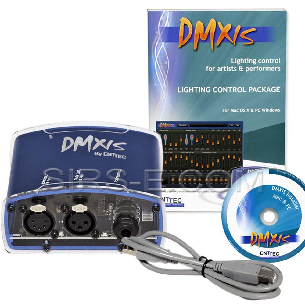 Enttec DMXIS 70570 USB MAC OS & PC Controller & Software 512 Channels