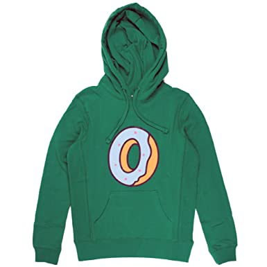 1528a9156d8701 Odd Future Single Donut Girl s Pullover (Kelly Green Blue) Hoodie ...