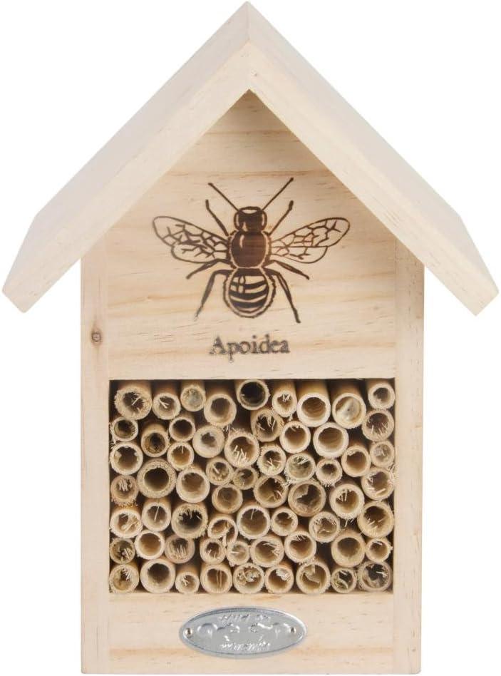 Amazon Com Esschert Design Wa38 Bee House With Line Drawing Garden Outdoor