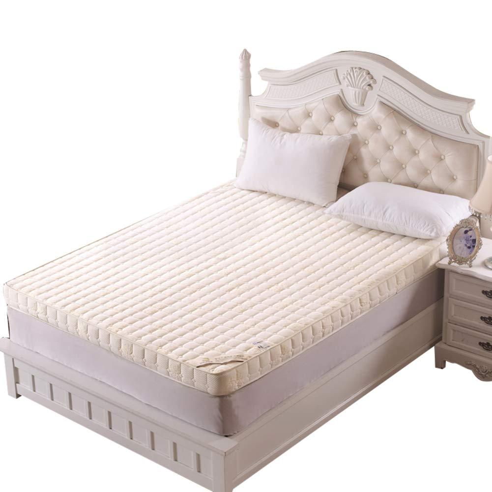 メモリスポーントースト ベッドパッド, ウルトラソフト 厚め 10 Cm 布団畳 快適 滑り止め 折り畳み式 マットレスをロールアップします。-a B07RZ83C97