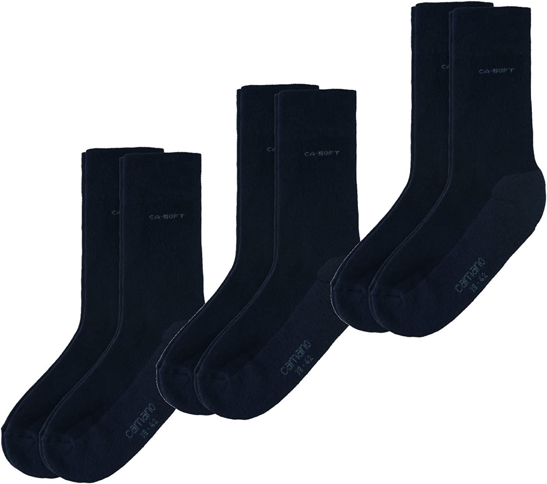 35//38 39//42 43//46 47//49 Art 2Paar CAMANO Socken CA-SOFT WALK Frotteesohle 3652