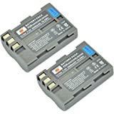 DSTE® 2x EN-EL3E Rechargeable Li-ion Battery for Nikon D30 D50 D70 D70S D80 D90 D100 D200 D300 D300S DSLR D700 Digital SLR Camera