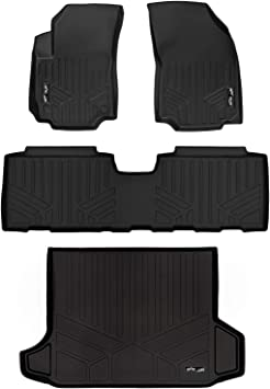 Amazon Com Maxliner Floor Mats 2 Rows And Cargo Liner Black For