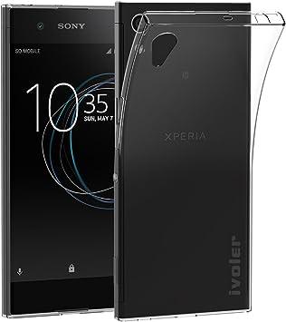 ivoler Funda Carcasa Gel Transparente para Sony Xperia XA1, Ultra Fina 0,33mm, Silicona TPU de Alta Resistencia y Flexibilidad: Amazon.es: Electrónica