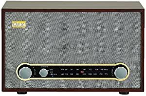 QFX RETRO-100 Retro Collection Bluetooth AM/FM Radio