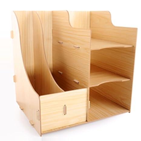 Office Desk Organizer, YIFAN Table Organizer Shelf For Home Office Supplies Desk  Accessories Books 11.3u0026quot