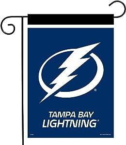 "Sparo Tampa Bay Lightning Garden Flag Hockey Licensed 12.5"" x 18"""