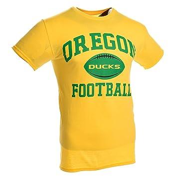Oregon patos Vieja Escuela 2.0 camiseta de fútbol (amarillo), Amarillo: Amazon.es: Deportes y aire libre