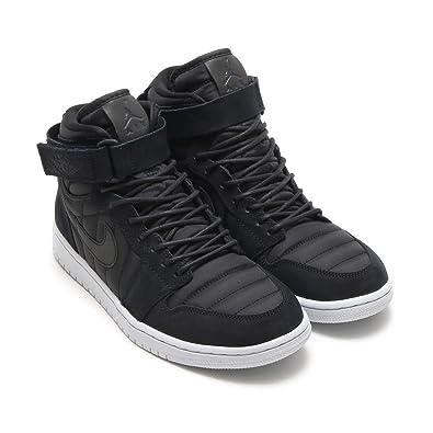 release date: 5e9f3 a4693 Nike Jordan Men's Air Jordan 1 High Strap Basketball Shoe Dark Grey Heather