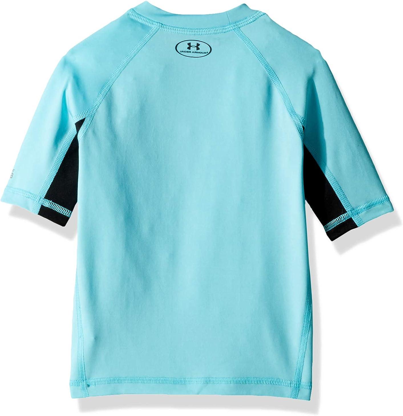 Under Armour Boys Ua Comp Short Sleeve T-Shirt Rashguard