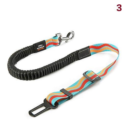 yangGradel Ajustable Perro Cinturón de Seguridad para Coche Perro ...