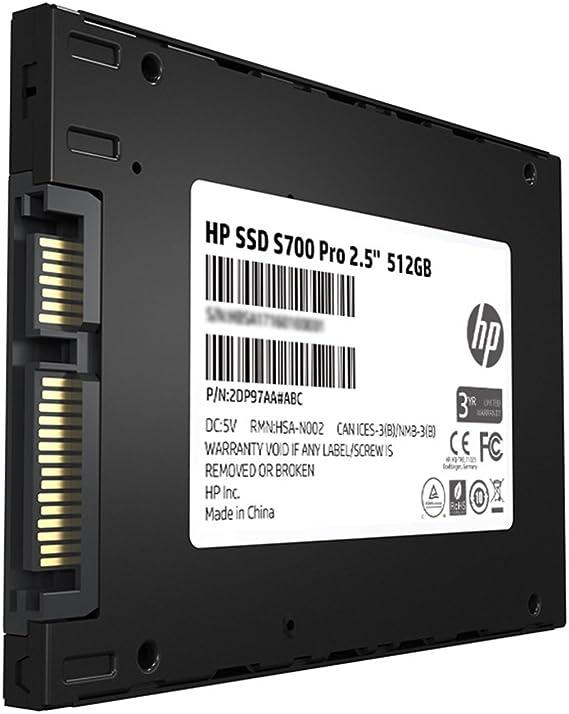 Hp 2ap99aa Abl Ssd S700 Pro 6 35 Cm 512 Gb Sata Iii 3d Computers Accessories
