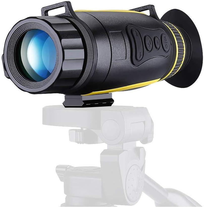 Nachtsichtger/ät Jagd Milit/är Infrarot 5X35 Vergr/ö/ßerung mit 32GB TF Karte Infrarot Kamera und Stativanschlussgewinde Wiedergabe Foto und Videoaufnahmefunktion bei Tag und Nacht zum Au/ßeneinsatz