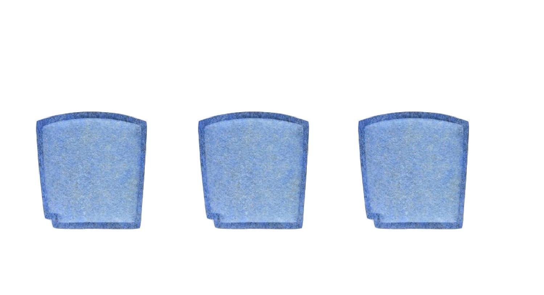 Nispira Filter Replacement Compatible with Hamilton Beach Pet TrueAir True Air Purifier Odor Eliminators Model 04384, 04386, 04532, 04532GM, 04530, 3 Packs