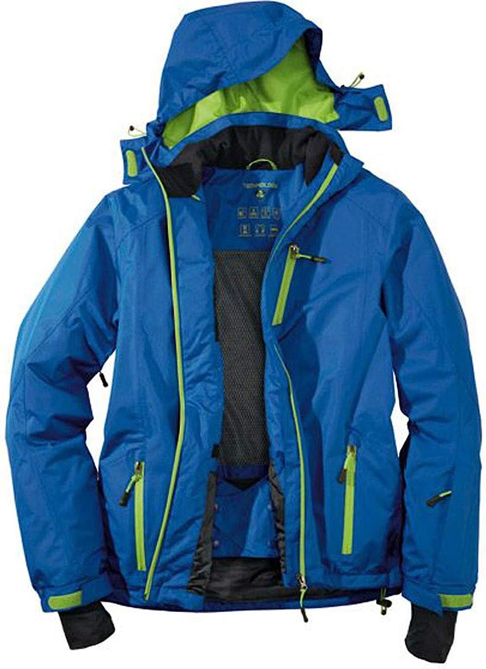 Crivit Pro Herren Skijacke Wintersport Winterjacke Jacke Kapuze Wasserdicht
