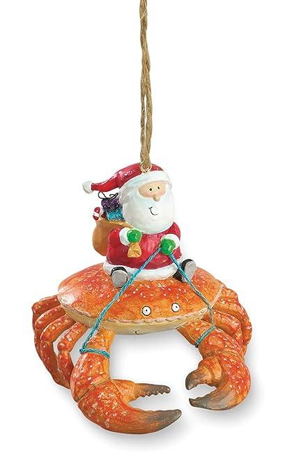 Cape Shore Beach Santa Riding Crab Claw Tiki Christmas Ornament - Amazon.com: Cape Shore Beach Santa Riding Crab Claw Tiki Christmas