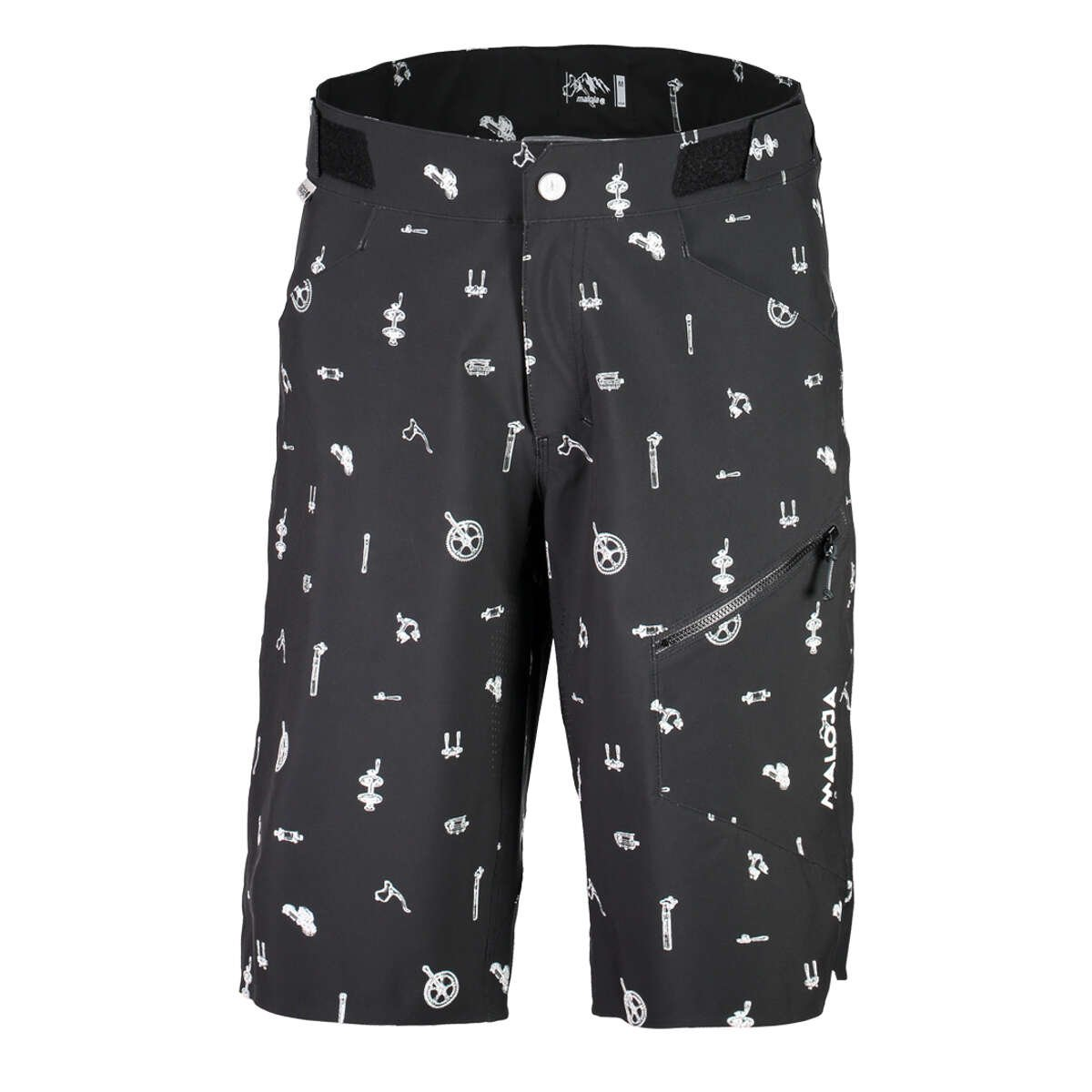 Maloja luism Printed Shorts, Kurze XXL