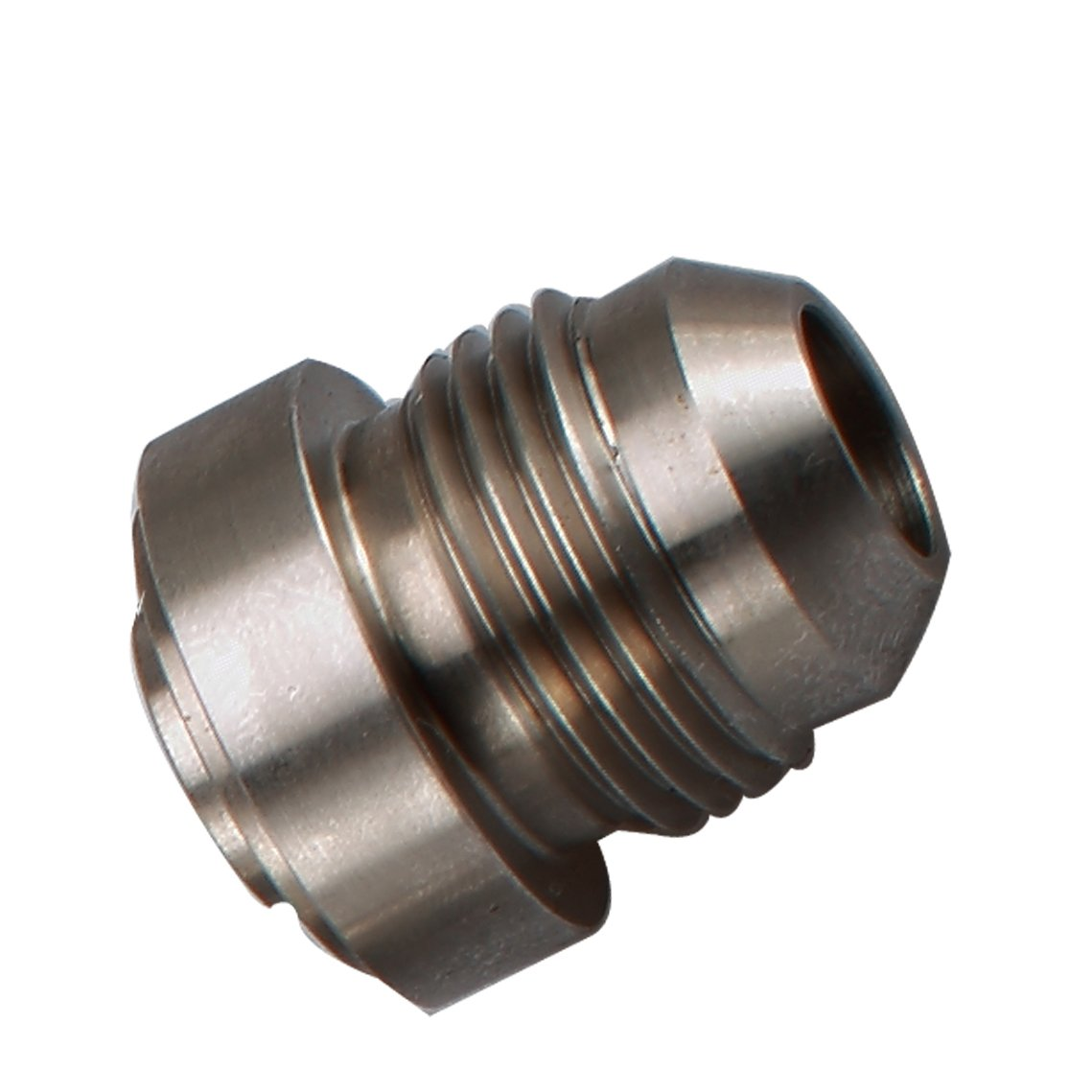 Pack of 2 Natural Steel Female 1//4 NPT Weld On Bung 1//4 Weldable Fuel Tank Fitting