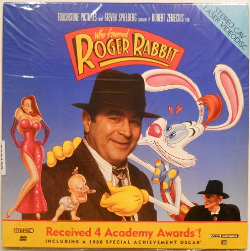 Framed Laser - Who Framed Roger Rabbit Widescreen Edition (Laserdisc)