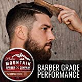 Hair-Styling-Clay-for-Men–Molding-Hair-Product-with-Firm-Hold-for-Shorter-Styles–Workable-Shine-Free-Matte-Finish-with-Natural-Plant-Derived-Ingredients-2-OZ