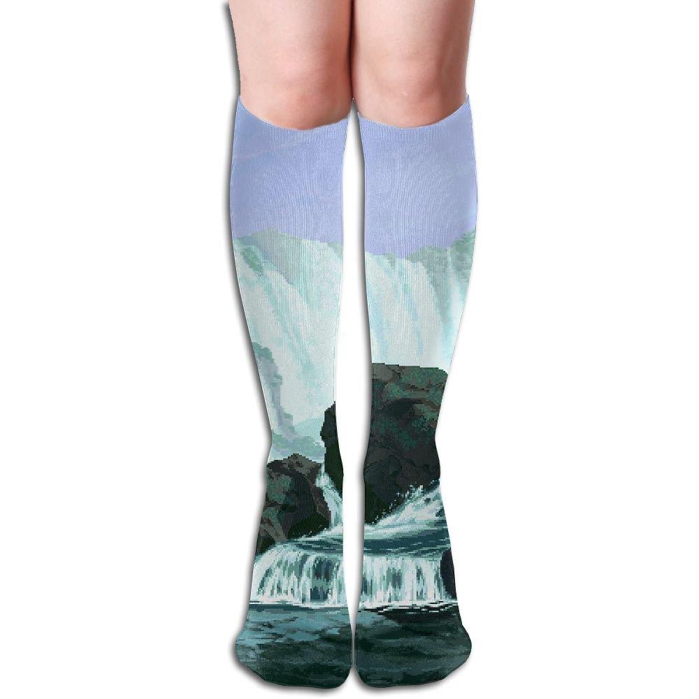 Tube High Pixel Art Keen Sock Boots Compression Long