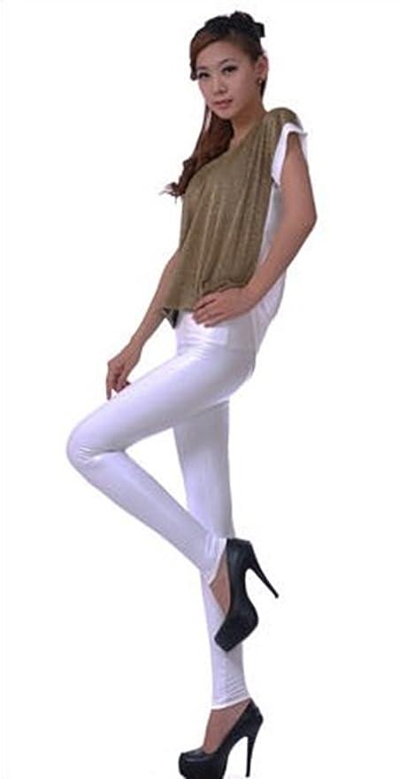PLAER Mode Femme Sexy Taille Haute Legging Simili Cuir Pantalon  Amazon.fr   Vêtements et accessoires 72cd3a499840