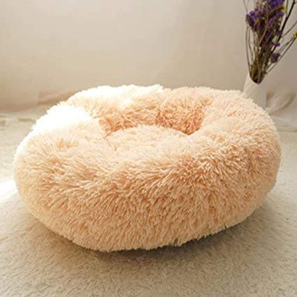 Hakazhi Inc Soft Fleece Pet Cat Bed House for Cats Winter Warm Cat Beds Kitten Sleeping