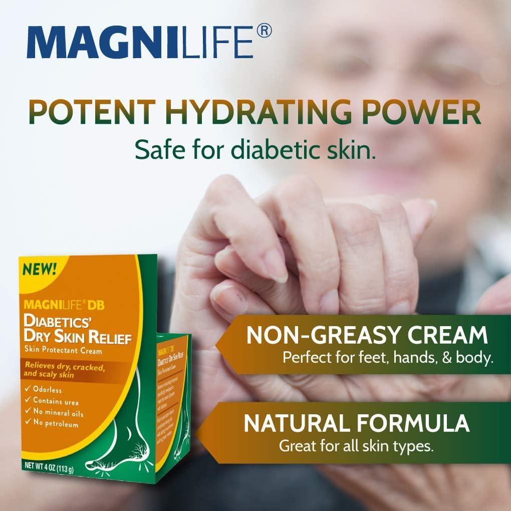 Amazon Com Magnilife Db Diabetics Dry Skin Relief Skin