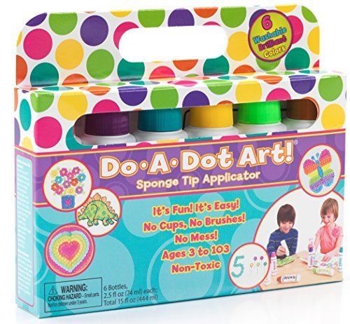 Do A Dot Art Marker Brilliant 6-pack CustomerPackageType: Frustration-Free Packaging Model: