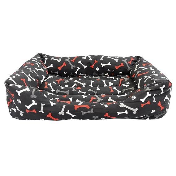 OFERTA BLACK FRIDAY! Cama para perro y gato Huesos Rojos ...