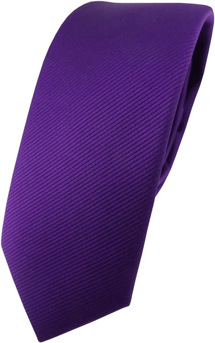 TigerTie - Corbata - Básico - para hombre morado Lila Violett ...