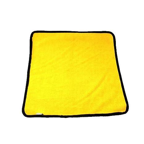 AOLVO - Toalla de Microfibra para Limpieza de Coches, Grado Profesional, Dual, Ultra
