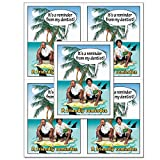 Laser Reminder Postcards, Dental Appointment Reminder Postcards. 4 Cards Perforated for Tear-Off at 4.25'' x 5.5'' on an 8.5'' x 11'' Sheet of 8 Pt Card Stock. DEN221LZS (2500)