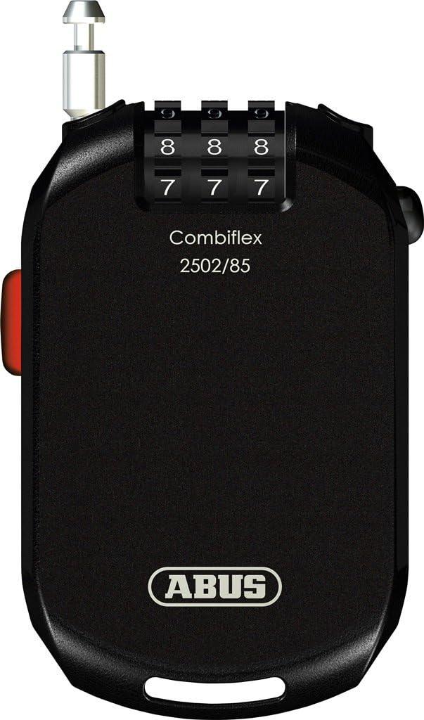 Abus Combiflex Pro 2502 Cable Acero antirrobo Moto, Unisex Adulto ...