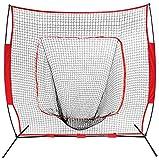 Training Aids Baseball & Softball Practice Net Training Aids W/Carry Bag Portable (7''x7'')
