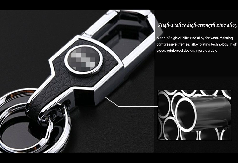 KeyChain Will Never Rust Zepthus Jeep Key Chain Stainless Steel Grill Key Chain Bend or Break!Car Key KeyRing for All