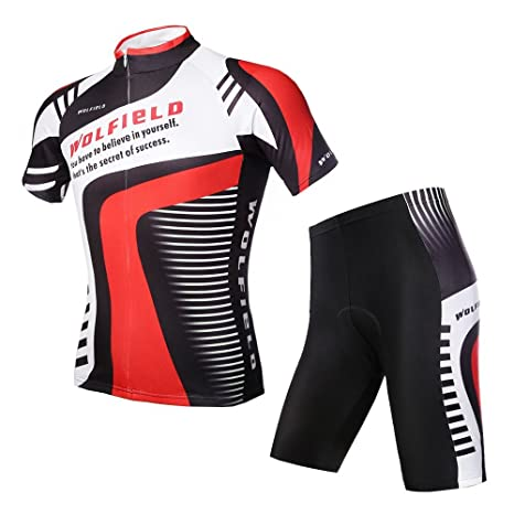 92e9961b1 WOLFBIKE Men Cycling Jersey Bicycle Bike Cycle Short Sleeve Jersey  Comfortable Breathable Shirts Tops