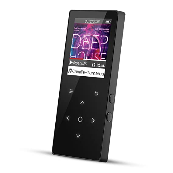 Bluetooth 4.0 Touch Bedienfeld Metall 8GB MP3 Player