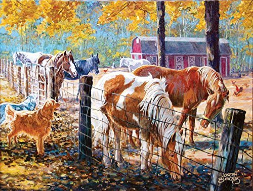 McTigue's Horses a 500-Piece Jigsaw Puzzle by Sunsout Inc. by SunsOut