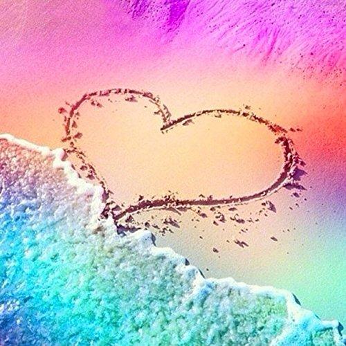 3D Amour Coeur Paon Full Drill Diamant Peinture Complet Kits pour Enfants Adultes Débutants Décor À La Maison Famille Tenture Cadeaux 30 * 30 cm