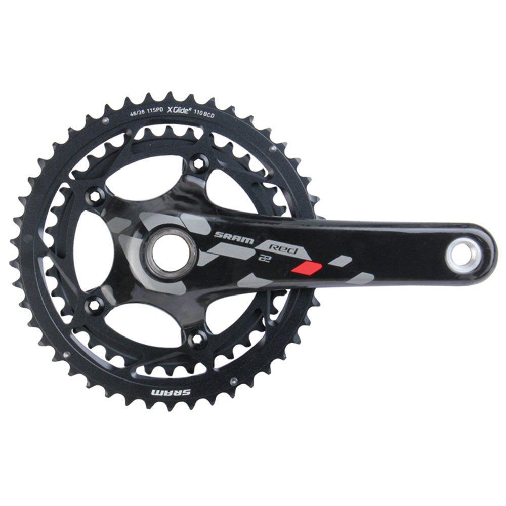 Sram Road Red 22 - Biela para Bicicleta de Carretera: Amazon.es ...