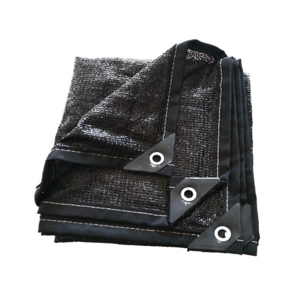 DGLIYJ Rete Isolante Protezione Solare Cripta Rete Solare 8 Pin Wrap Foro Balcone Giardino Tetto Auto Capannone di Raffreddonnato (Dimensioni   2×6m)
