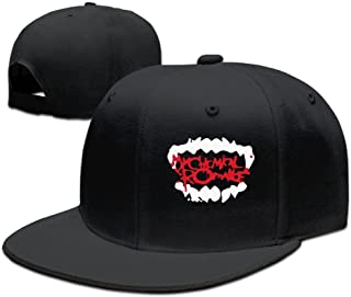 Facsea runy Custom My Chemical Romance Adjustable Baseball Hat & cap Black
